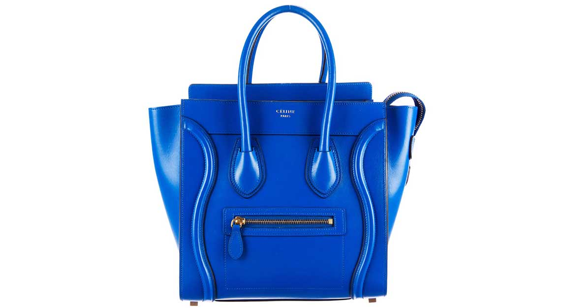 Iconic luxury handbags - Luggage Tote - Celine