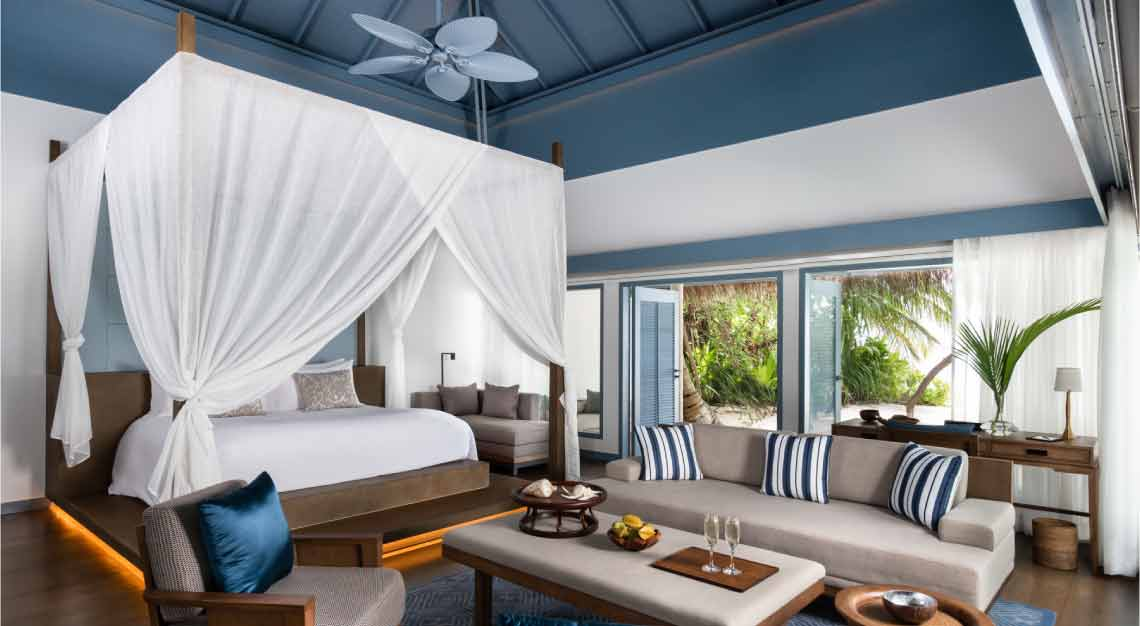 Raffles Maldives Meradhoo - Beach Villa