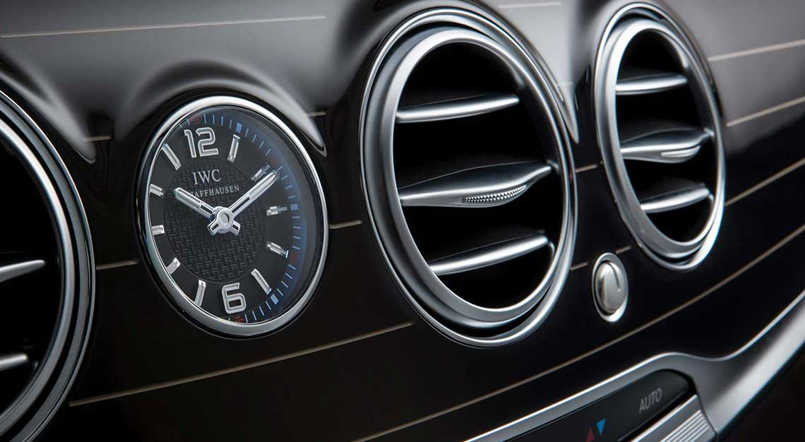 Best dashboard clocks - Mercedes-Benz