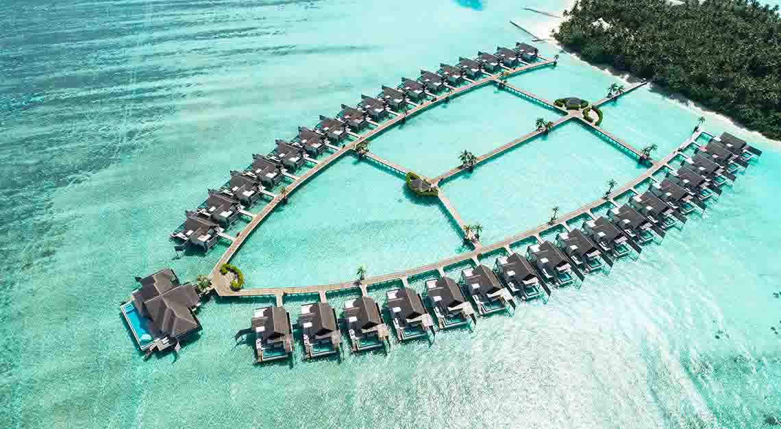 Niyama Maldives - Aerial view