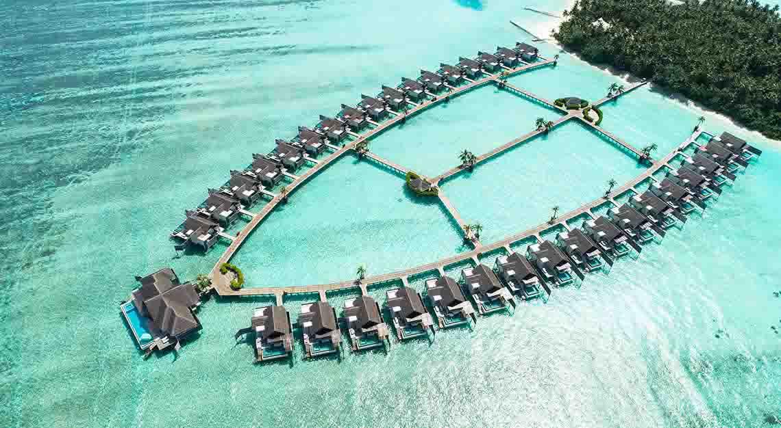 Niyama Maldives - Aerial view