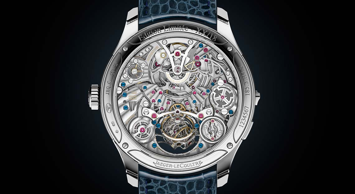 SIHH 2019 - Jaeger-LeCoultre Master-Grande-Tradition Gyrotourbillon Westminster Perpetuel