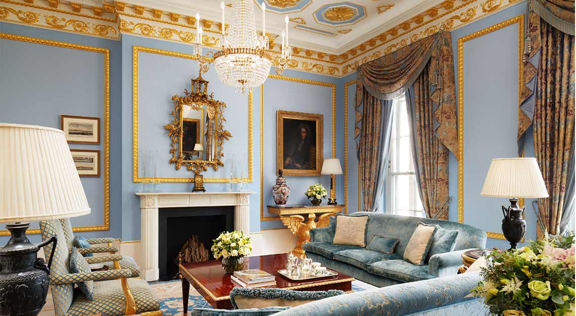 Presidential Suites in London - The Lanesborough