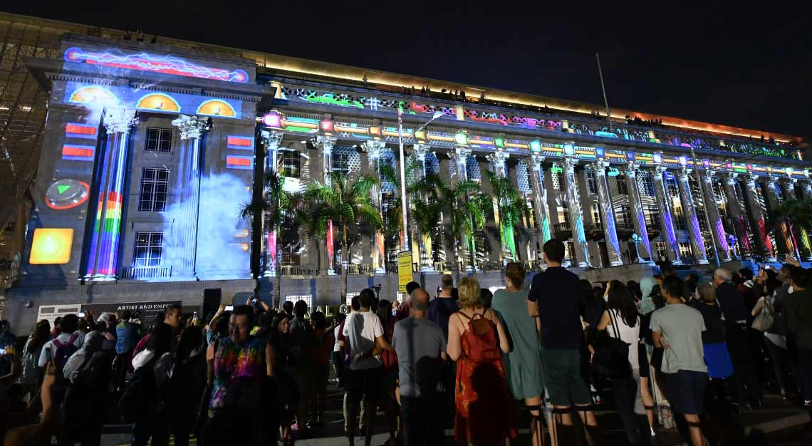 Singapore Art Week 2019 - Light to Night Festival 2019: Traces and Echoes