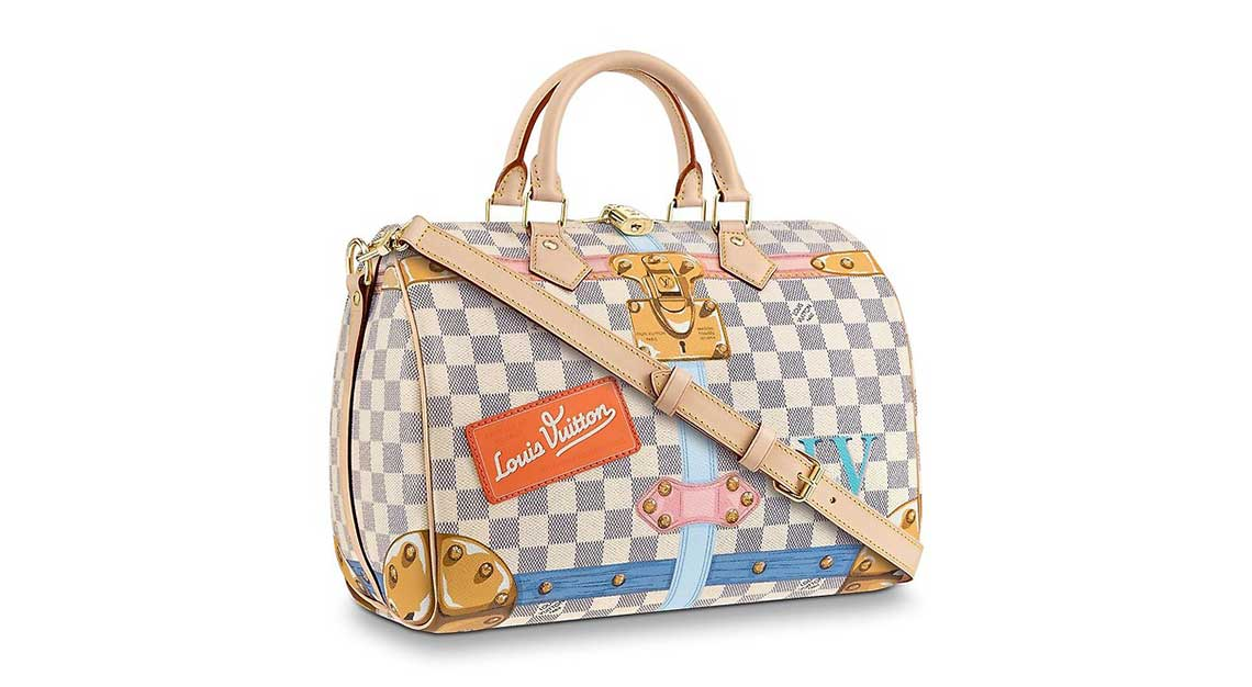 Iconic luxury handbags - Speedy - Louis Vuitton