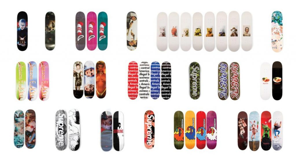 af5234d9 Sotheby's is auctioning a complete collector's set of Supreme skate ...