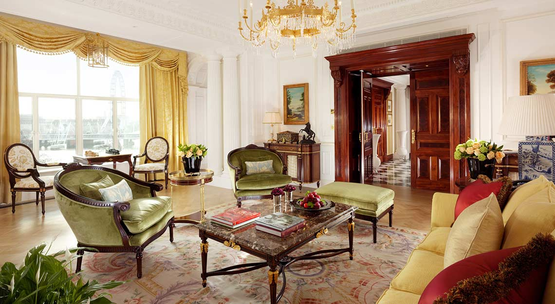 Presidential Suites in London - The Savoy