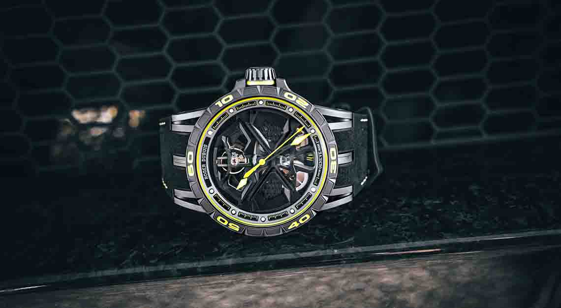 Roger Dubuis Excalibur Huracan Performante