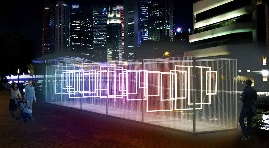 i Light Singapore 2019 - Constructive Interference