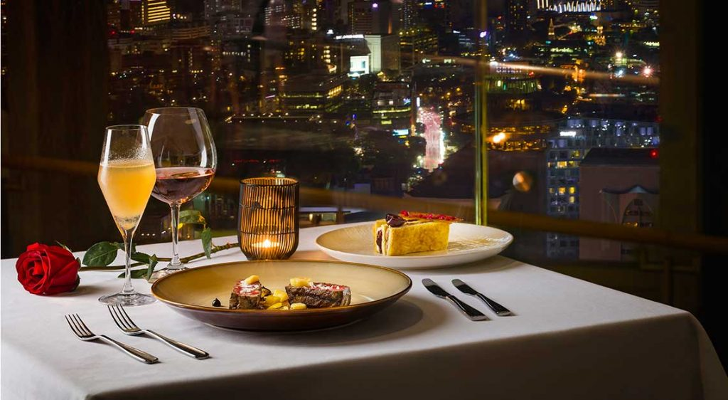 Valentines Day Dinners in Singapore