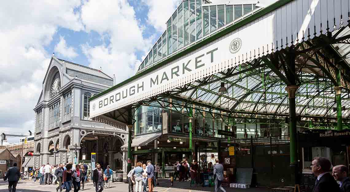 Best food markets around the world - Borough Market, London