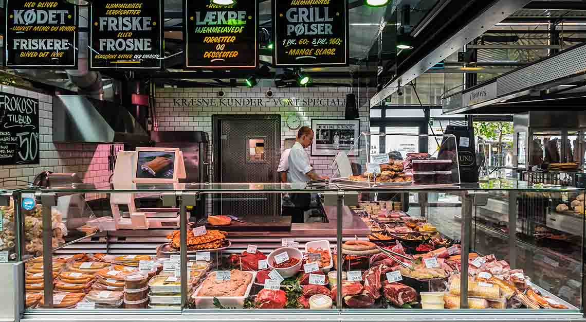 Best food markets around the world - Torvehallerne - Denmark