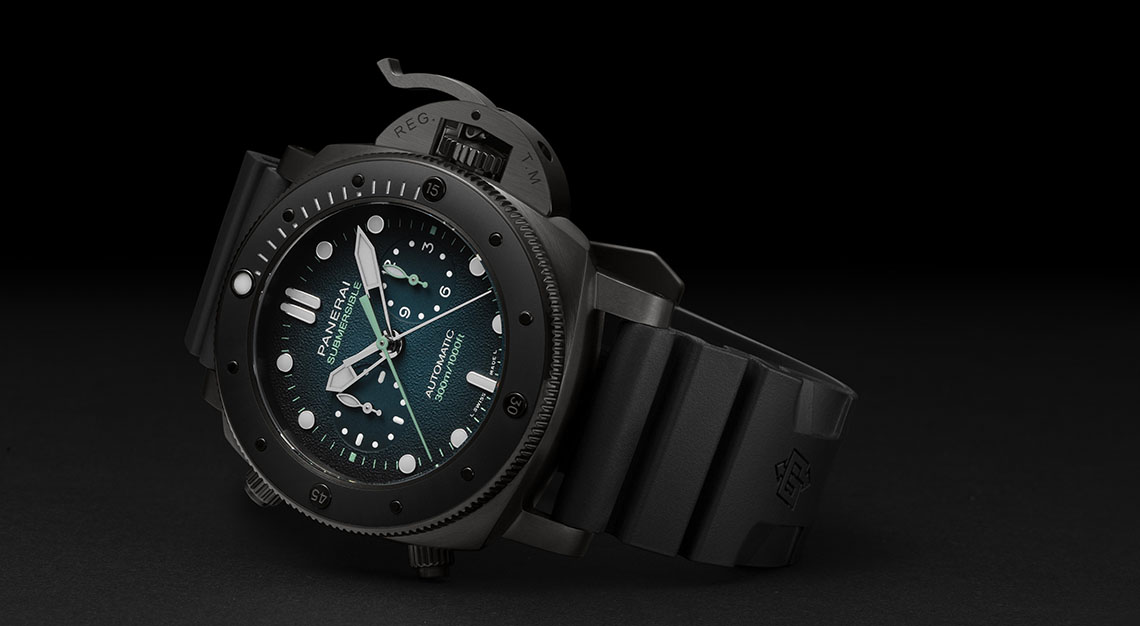 Panerai Submersible Chrono Guillaume Nery Edition