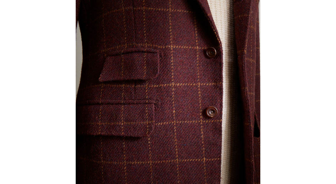 Bespoke menswear - Anderson and Sheppard
