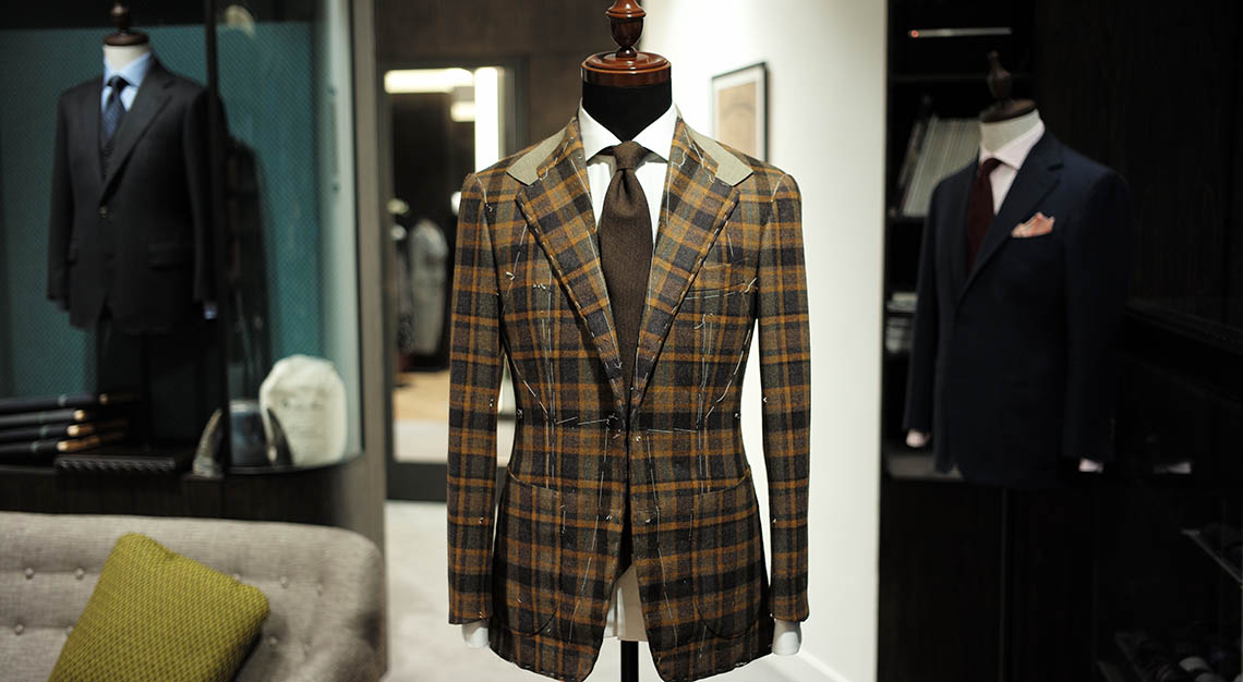 Bespoke menswear - WW Chan and Sons