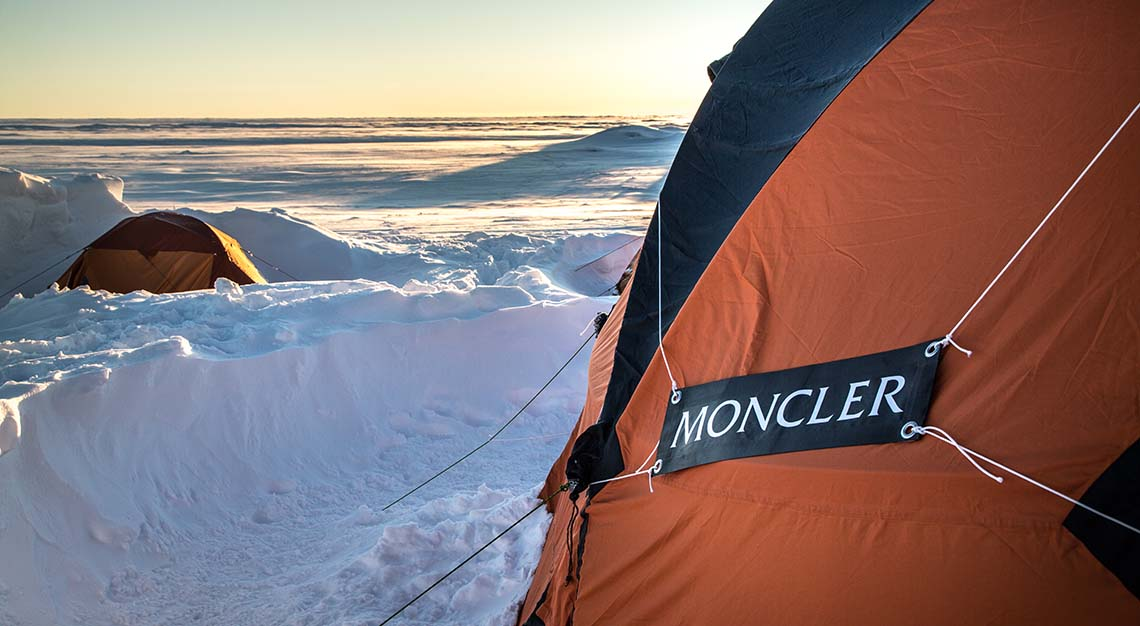 Moncler and Francesco Sauro explore Greeland's subzero glaciers
