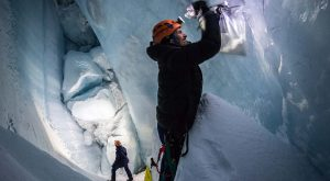 Moncler and Francesco Sauro explore Greeland's subzero glaciers