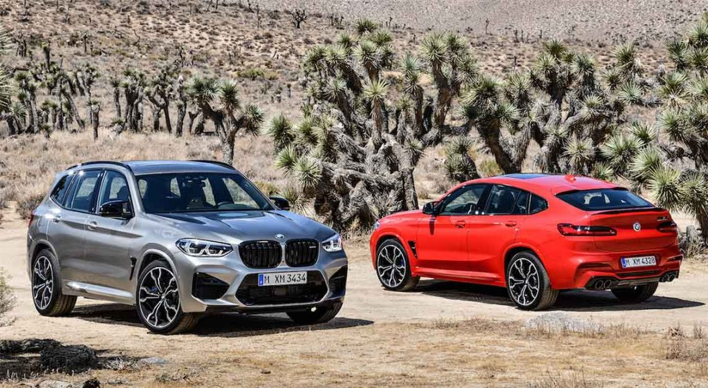 BMW X3M and BMW X4M