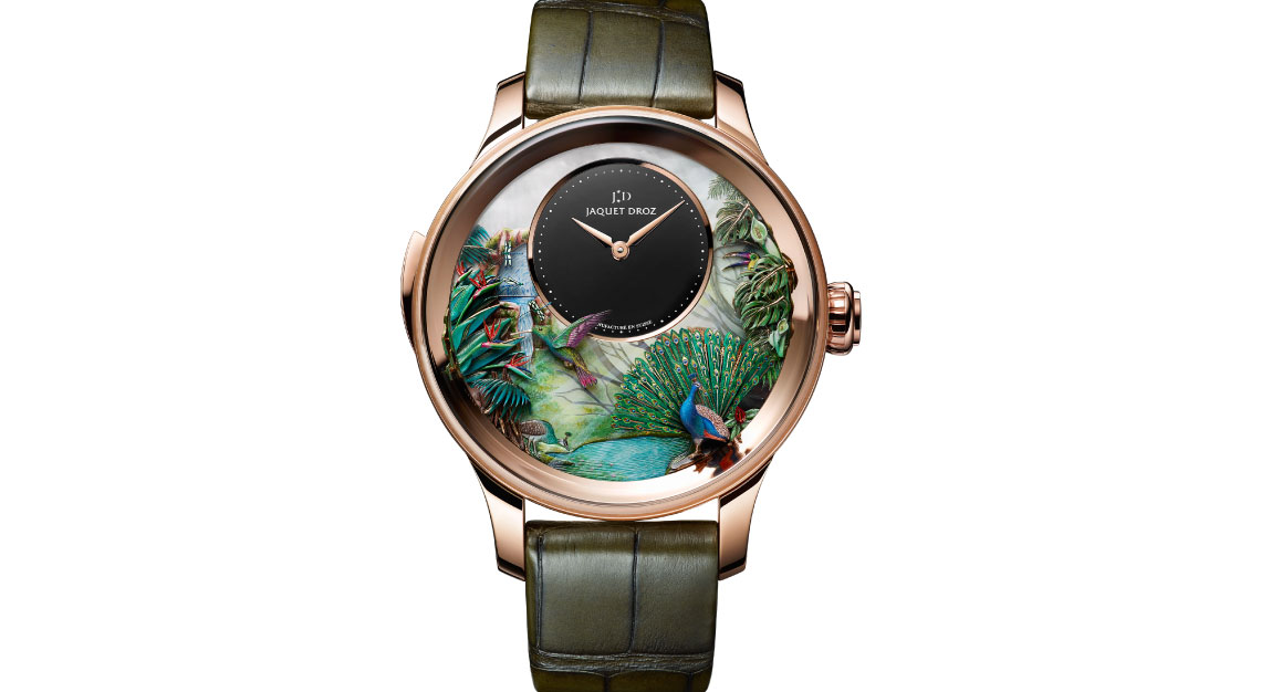 Tropical Bird Repeater, Jaquet Droz