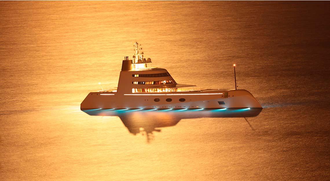 Igor Lobanov - Blohm + Voss motor yacht A