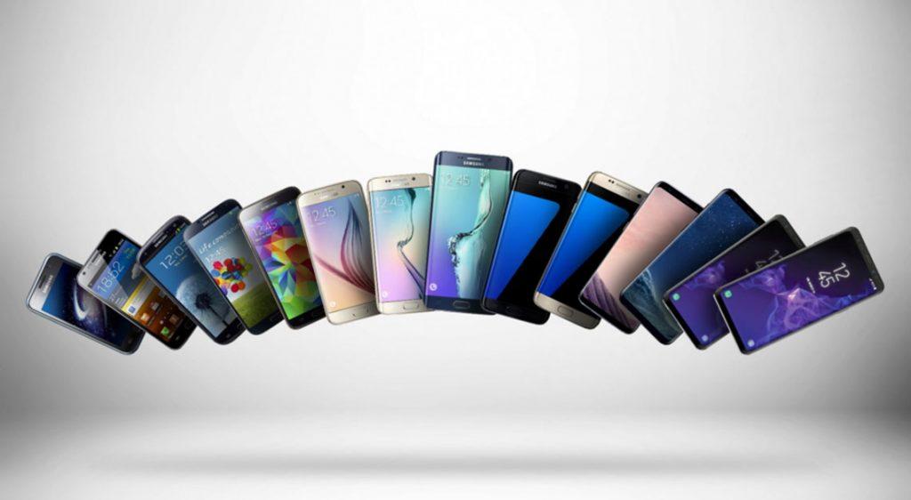 Samsung Galaxy 10 Year Anniversay