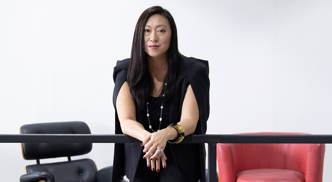 Larissa Tan, CEO of Vanda Electrics