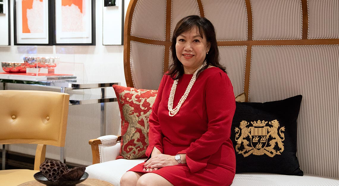 Samantha Tan, general manager of South Beach Consortium