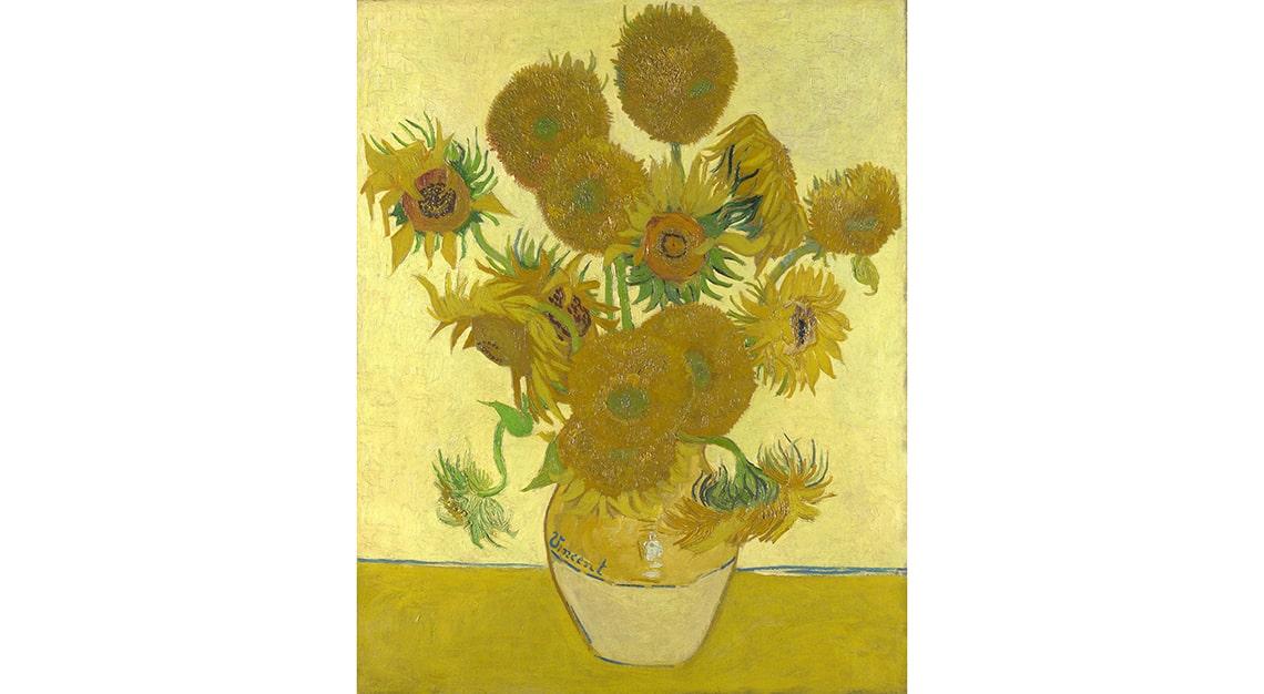 Sunflowers, Vincent Van Gogh