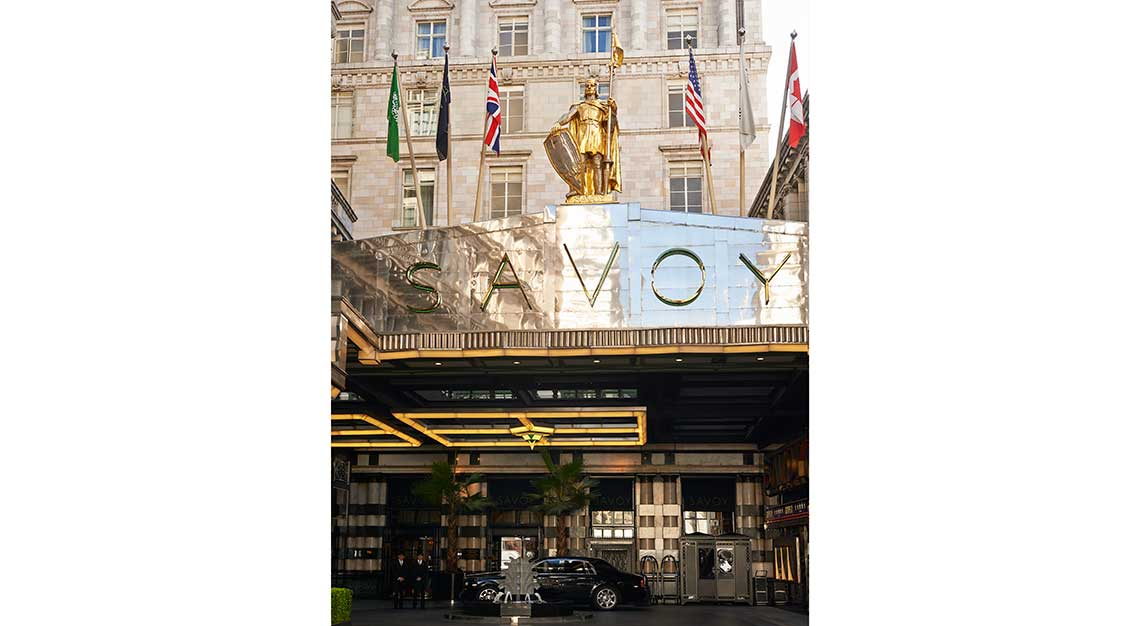 Most luxurious hotel room bed in the world - The Savoy