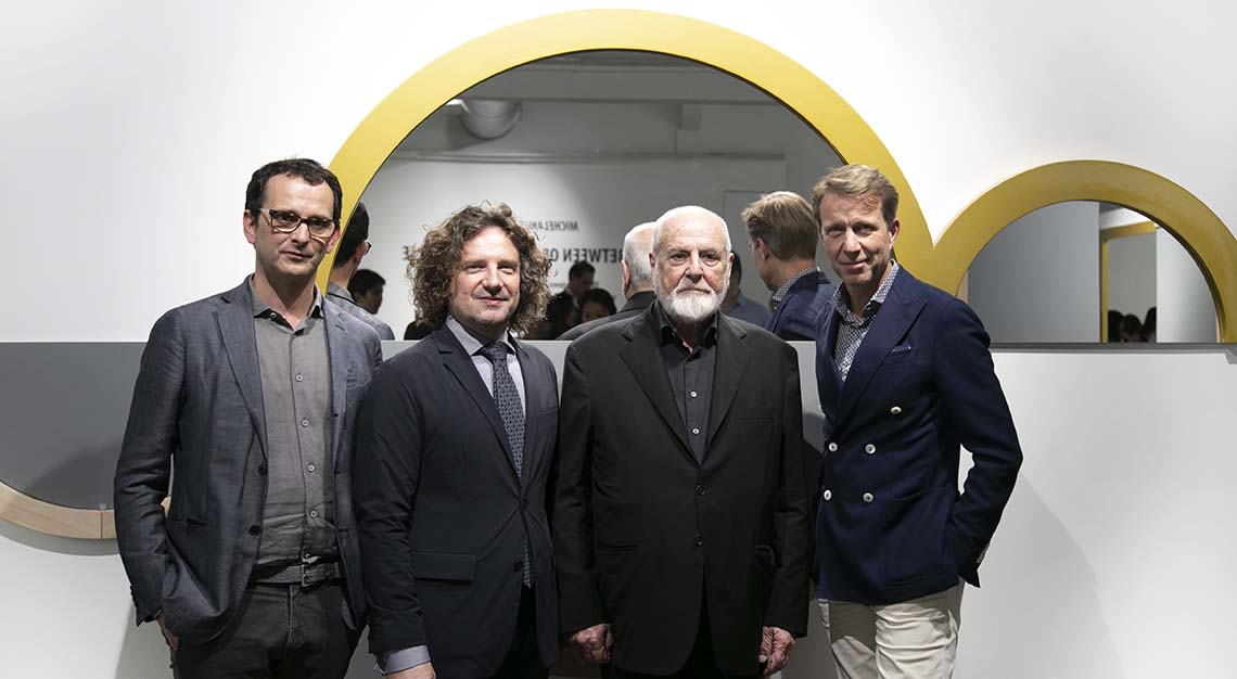 Michelangelo Pistoletto art panel
