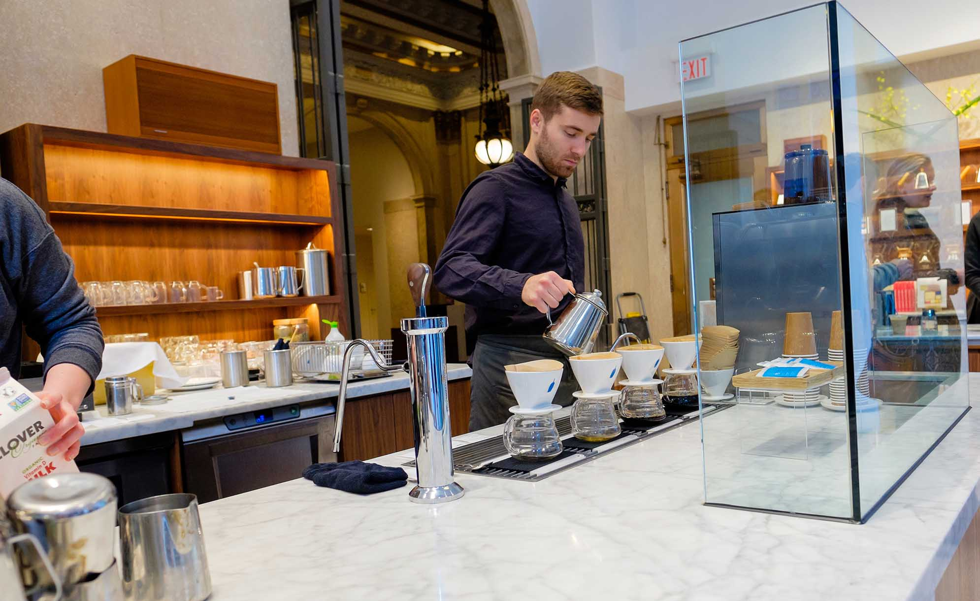 San Francisco city guide - Blue Bottle Coffee