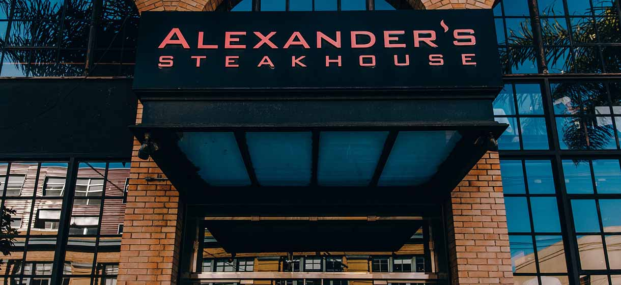 San Francisco city guide - Alexander's Steakhouse