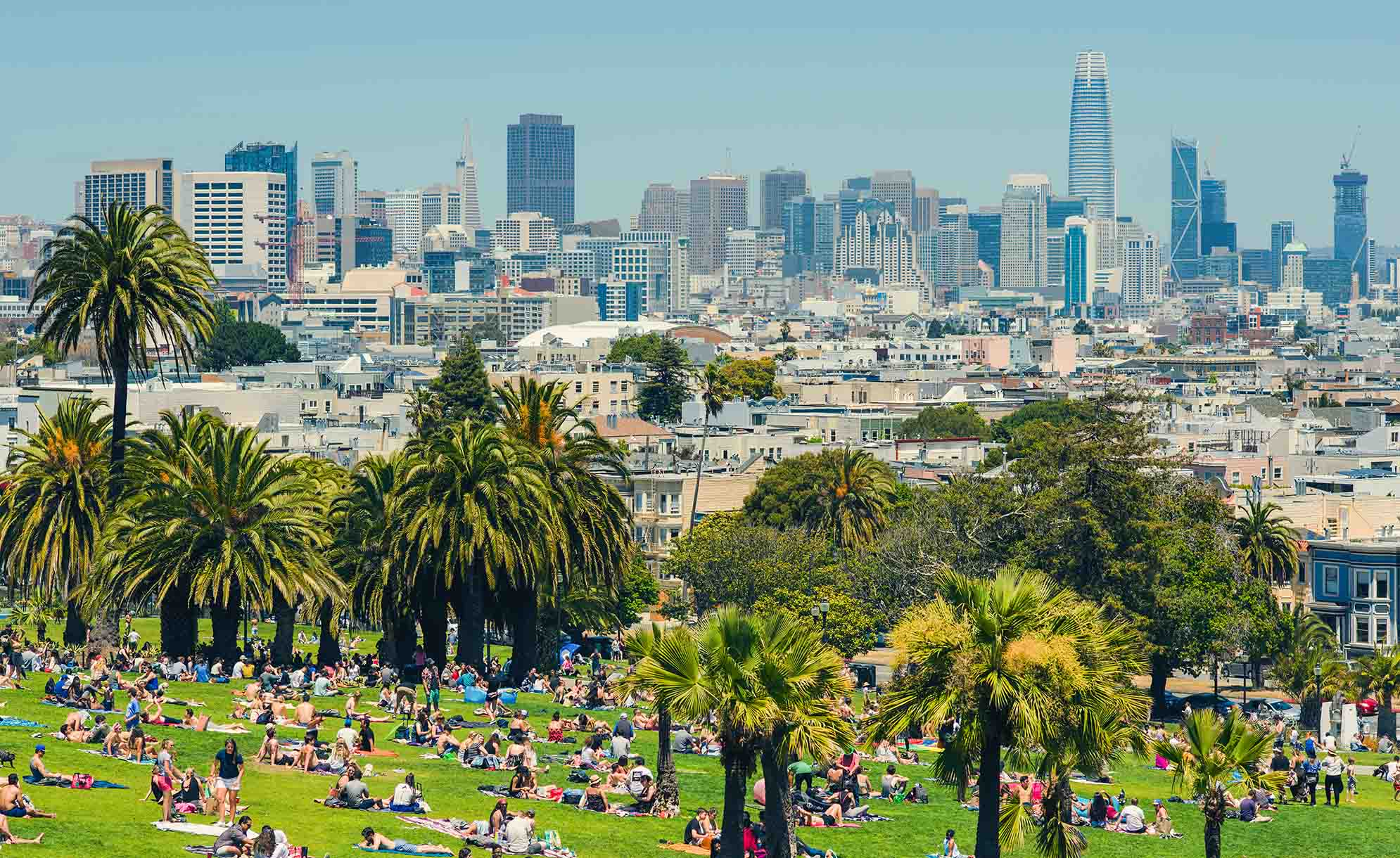San Francisco city guide - Dolores Park