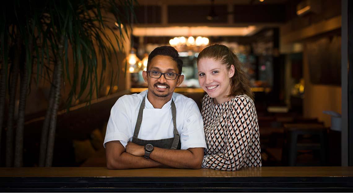 Things to do in Singapore - Cheek Bistro - Chef Rishi Naleendra