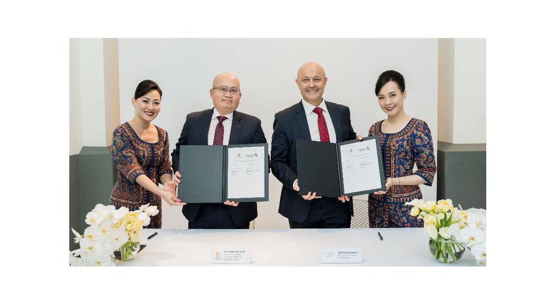 Singapore Airlines signs partnership with Como Shambhala