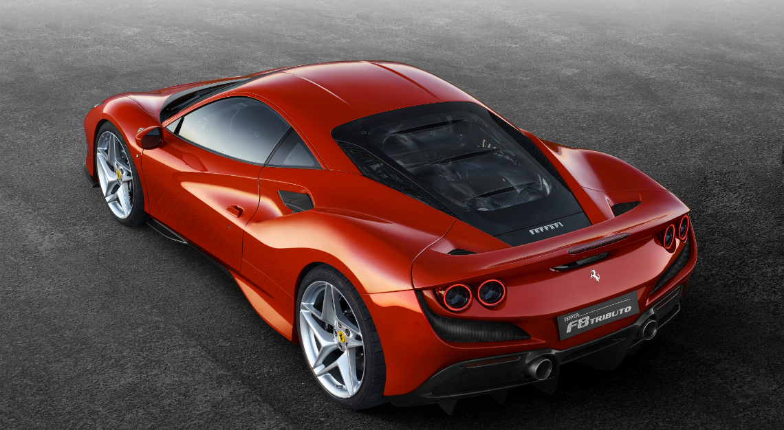 Geneva Motor Show 2019 - Ferrari F8 Tributo