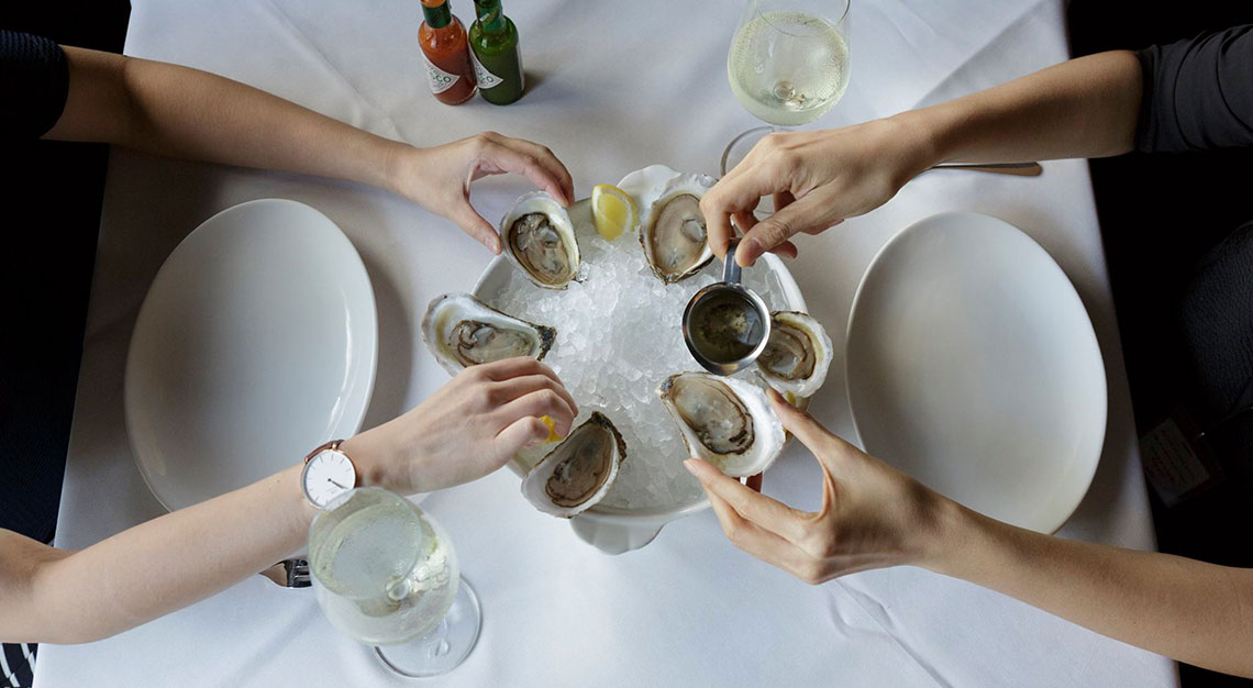 Best restaurants for oysters in Singapore - Luke's Chophouse and Oyster Bar