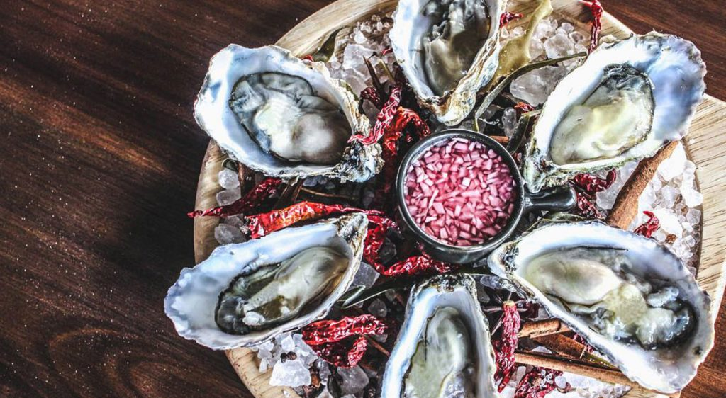 Best restaurants for oysters in Singapore - Angie's Oyster Bar