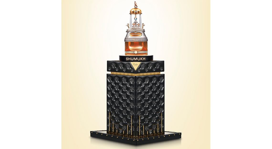 Most expensive perfume - SHUMUKH
