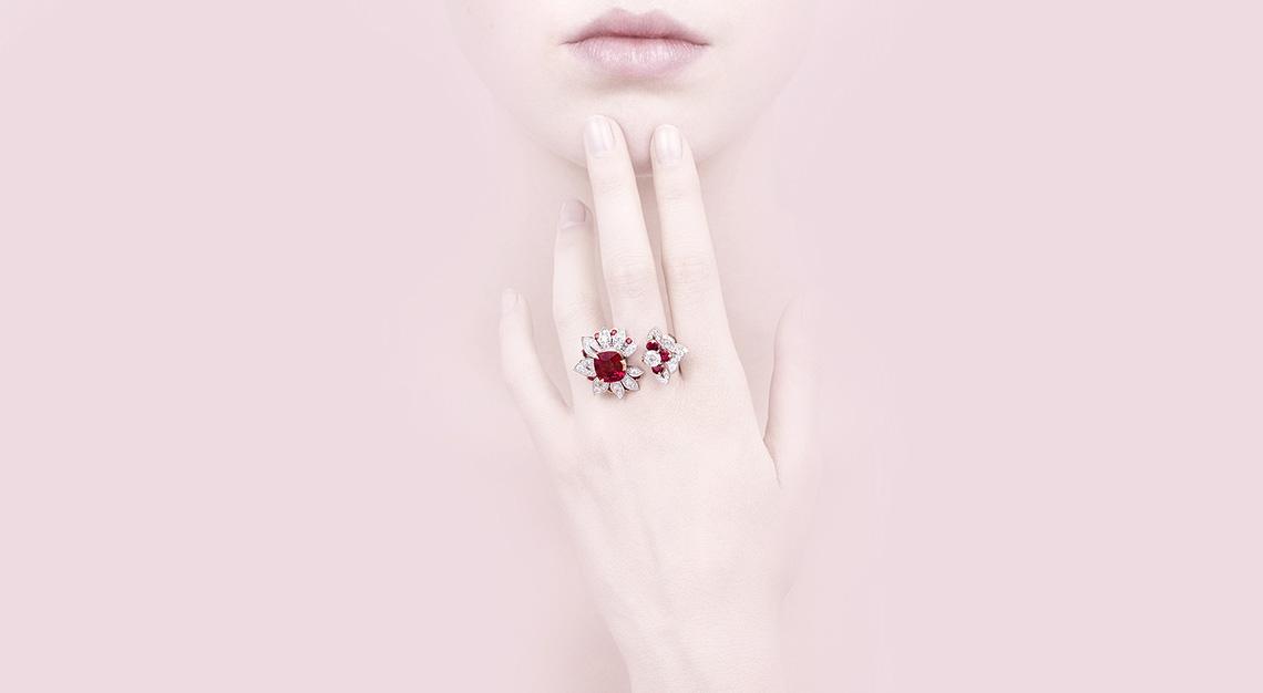 Van Cleef & Arpels - Treasure of Rubies high jewellery collection
