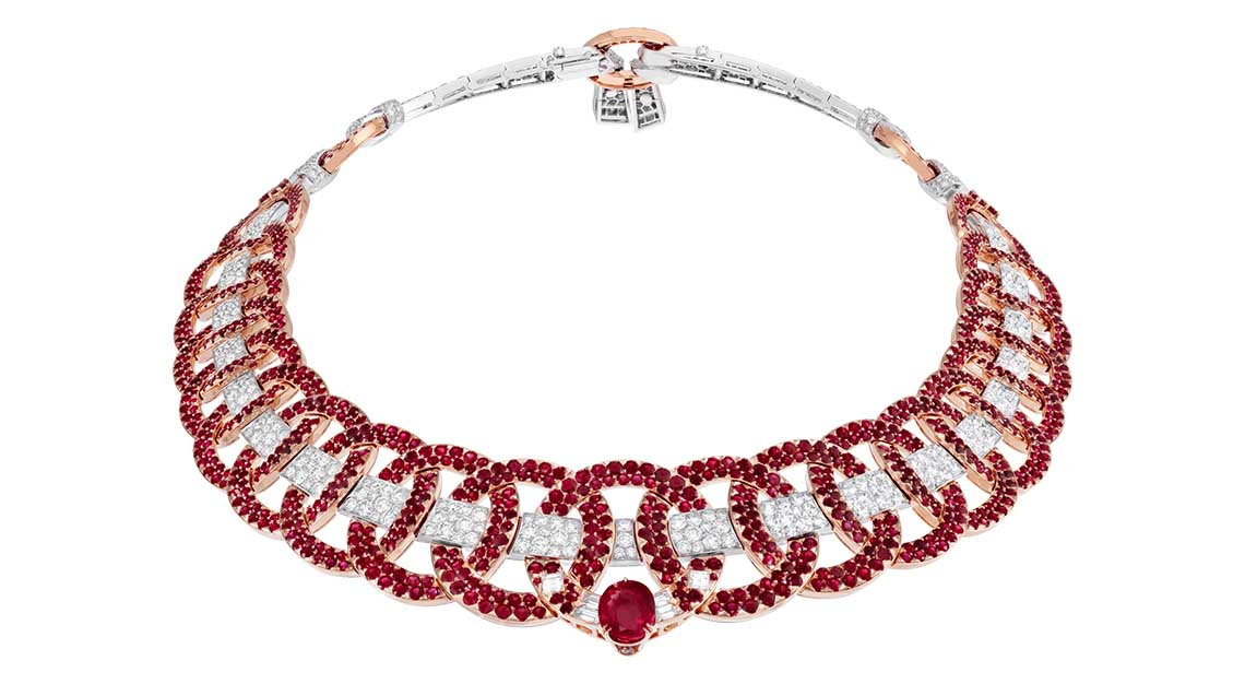 Van Cleef & Arpels - Treasure of Rubies high jewellery collection