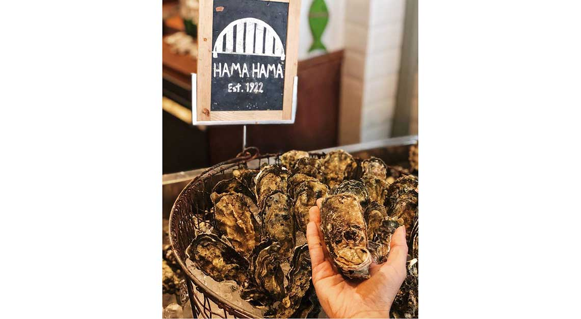 Best restaurants for oysters in Singapore - Humpback