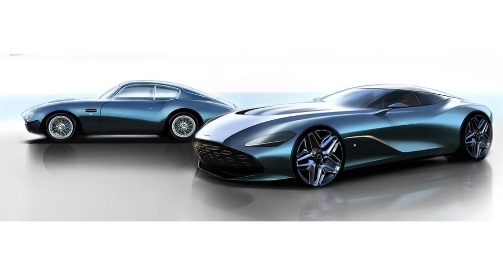 Aston Martin DBZ Centenary Collection