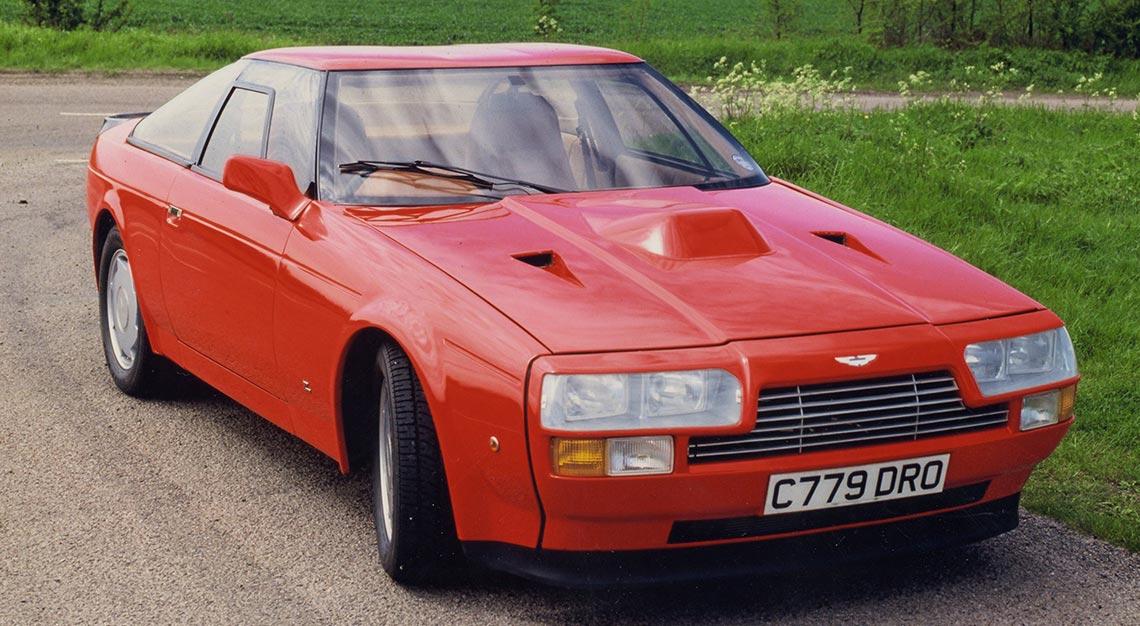 Aston Martin-Zagato Collaborations - Aston Martin V8 Vantage Zagato
