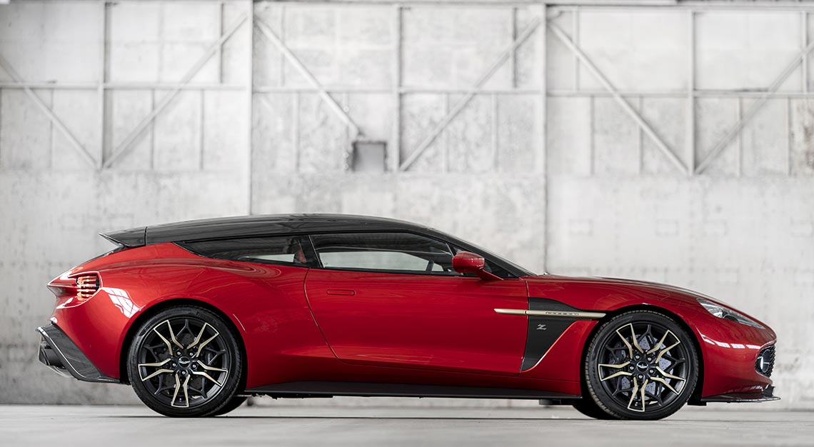 Aston Martin-Zagato Collaborations - Aston Martin Vanquish Zagato Shooting Brake