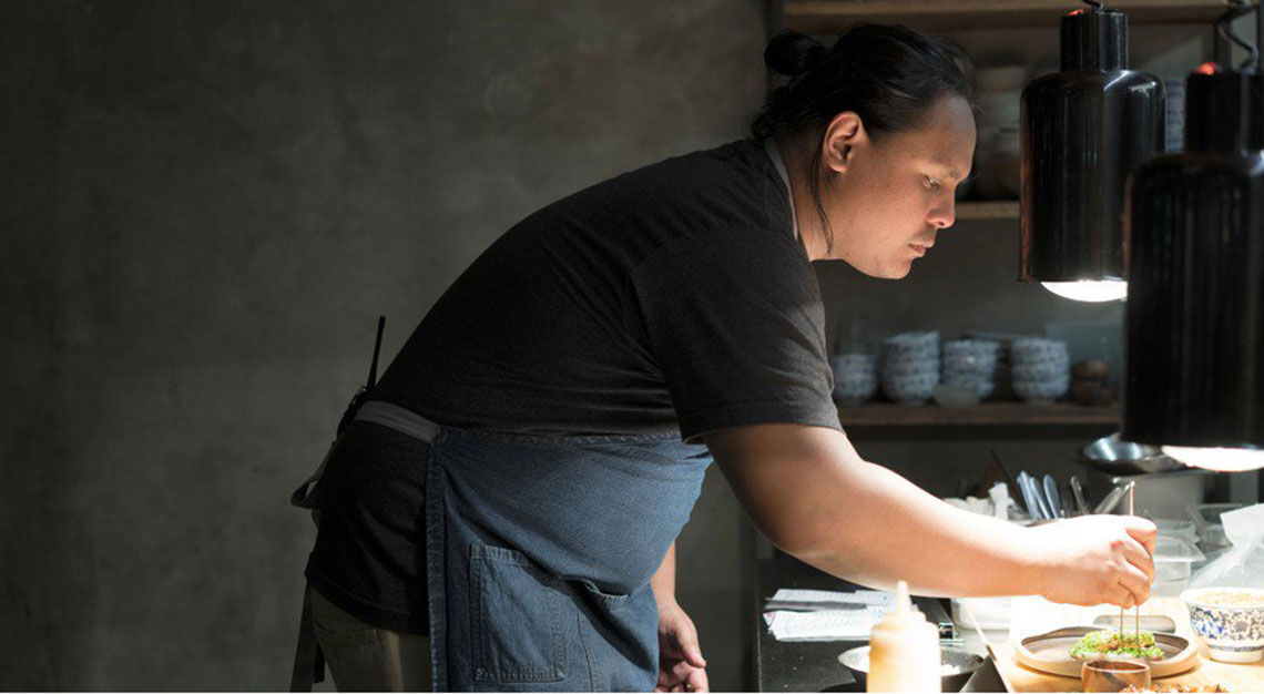 Filipino fine dining - chef Jordy Navarra