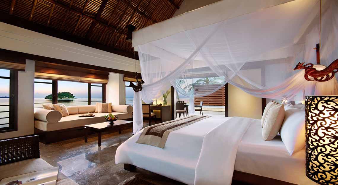 Luxury babymoon getaways near Singapore - Banyan Tree Bintan