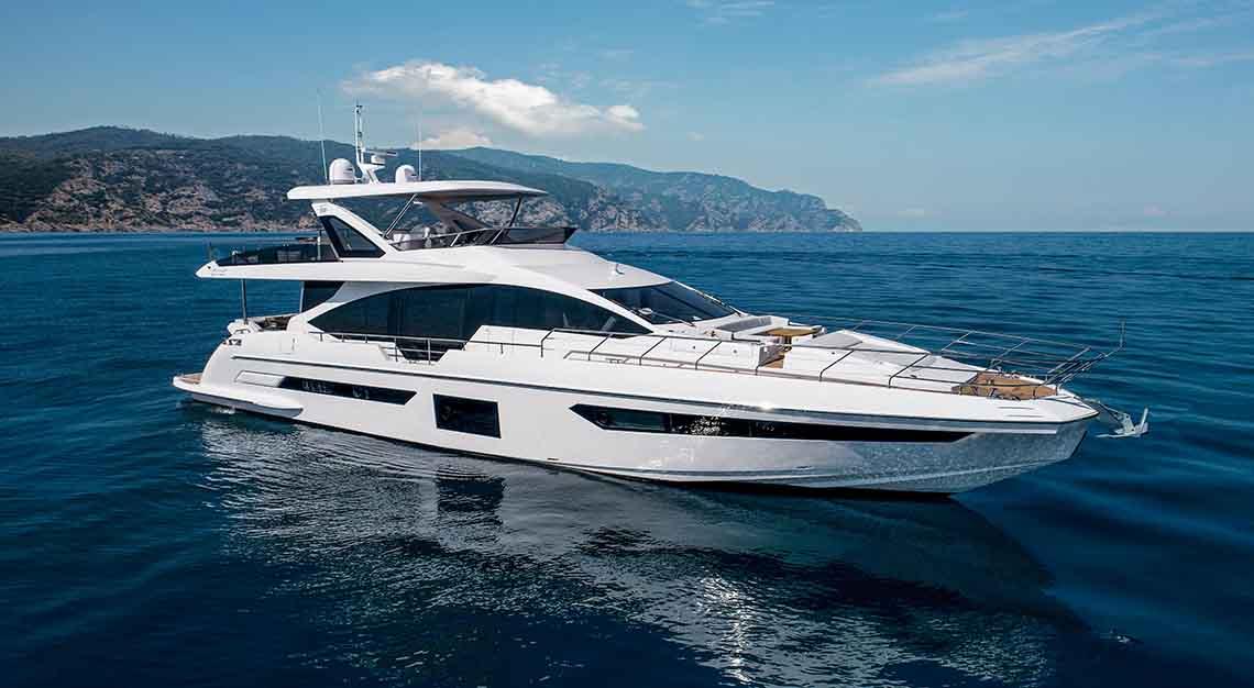 Singapore Yacht Show 2019 - Azimut Grande 25 Metri