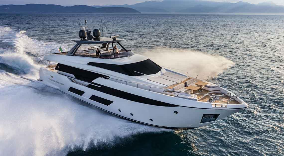 Singapore Yacht Show 2019 - Feretti 920