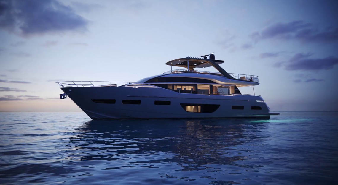 Singapore Yacht Show 2019 - Princess Y85 Motor Yacht